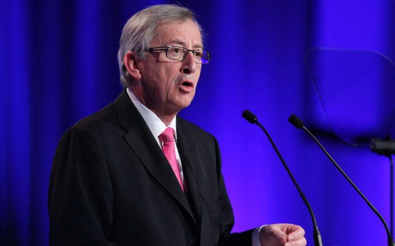 Μήνυμα του προέδρου της Ε. Ε. Ζαν-Κλωντ Γιούνκερ μετά τις επιθέσεις στις Βρυξέλλες