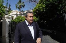 Καμμένος: «Δεν πρόκειται να βάλουμε την ασφάλεια της χώρας σε διαπραγμάτευση»