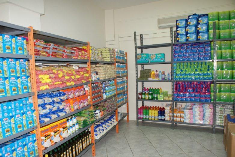 Διανομή προϊόντων ΤΕΒΑ στο Δήμο Ν. Πηλίου
