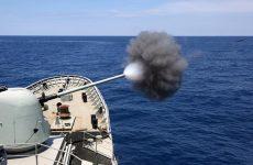 Τουρκικό πλοίο εντός πεδίου βολής της Άνδρου