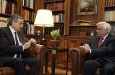 Π. Παυλόπουλος: Η πορεία της χώρας στην Ευρώπη πρέπει να μείνει αδιατάρακτη