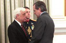 Στο Πρόεδρο της Δημοκρατίας  ο Αντ. Σαμαράς