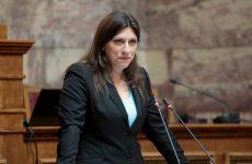 Επίθεση Ζ. Κωνσταντοπούλου σε Ν. Βούτση για την κατάργηση της Επιτροπής της