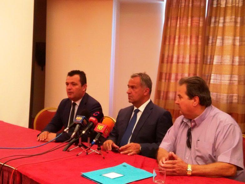 """Μ. Βορίδης στον Βόλο: """"Δεν θα αφήσουμε να φύγουμε από την Ευρώπη"""""""