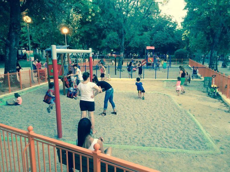 Η πρώτη πιστοποιημένη παιδική χαρά στο πάρκο της συνοικίας  Χιλιαδούς