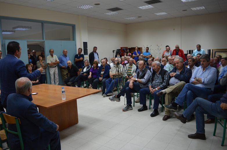 """Ομιλία βουλευτή Χρήστου Μπουκώρου σε συγκέντρωση υπέρ του """"ΝΑΙ"""" στον Αλμυρό"""