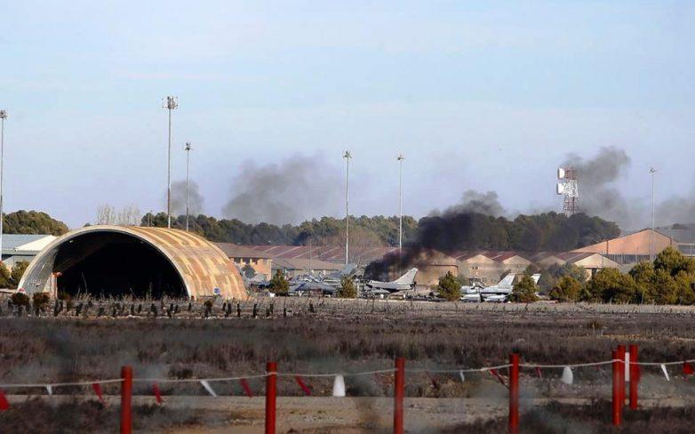 Μετατόπιση αντικειμένου στο πιλοτήριο αιτία του δυστυχήματος στο ελληνικό F – 16 στην Ισπανία