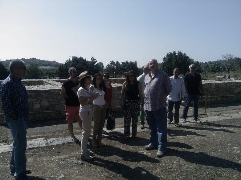 Συνάντηση για την αξιοποίηση αρχαιολογικών χώρων