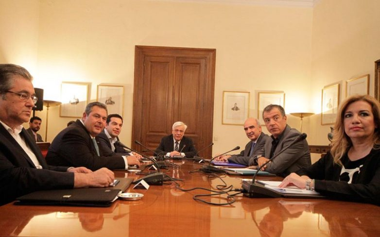 Τις προτάσεις της Αθήνας περιμένει αύριο η Α. Μέρκελ-Κοινό ανακοινωθέν,πλην ΚΚΕ