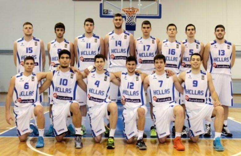 Η τελική 12αδα της Εθνικής Ελλάδος Μπάσκετ Εφήβων