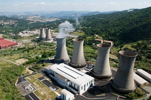 Italy:Geothermal Energy Plant in Tuscanny