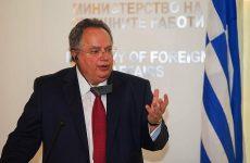 Εθνικό Συμβούλιο Εξωτερικής Πολιτικής συγκάλεσε ο Ν. Κοτζιάς