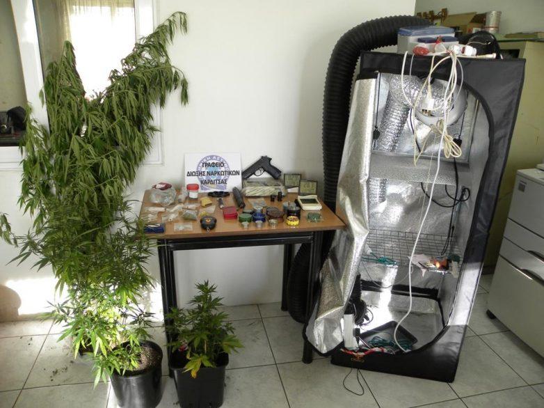 Σύλληψη νεαρού στην Καρδίτσα για ναρκωτικά και όπλα