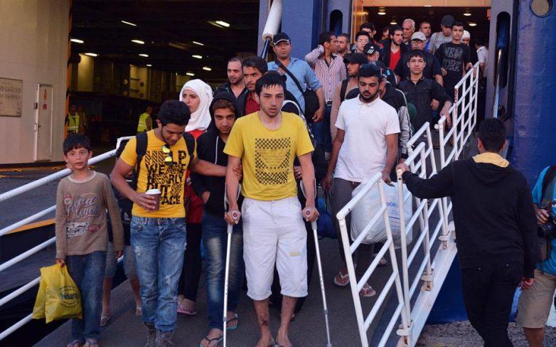 Στον Πειραιά οι μετανάστες απο την Κω