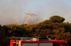 Σε ύφεση οι πυρκαγιές σε Εύβοια και Ρόδο