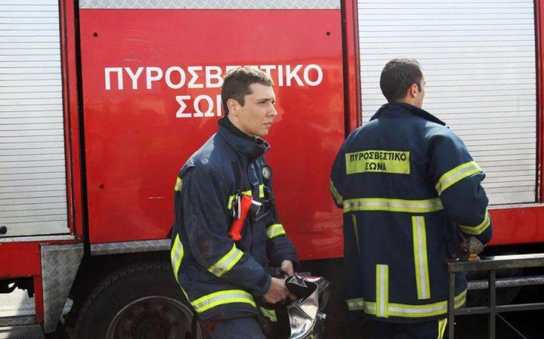 Ενας νεκρός από πυρκαγιά σε κατάστημα στη Θεσσαλονίκη