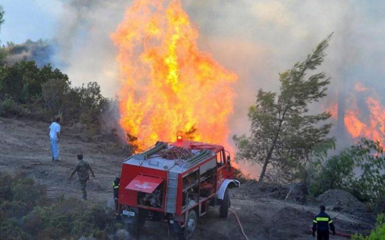Δύο συλλήψεις για την πυρκαγιά στην Εύβοια