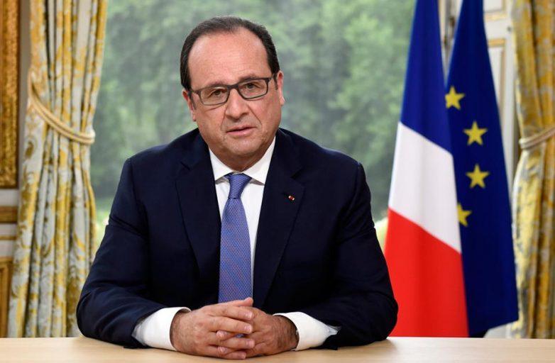 Ολάντ: «Η Γαλλία συνέβαλε ώστε να βγει νικήτρια η Ευρώπη»