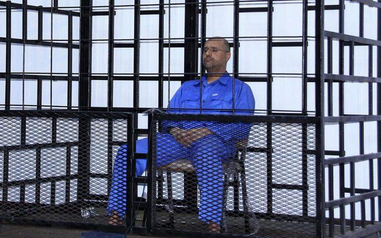 Θανατική καταδίκη για τον γιο του Καντάφι
