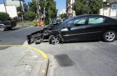 Τροχαίο υλικών ζημιών στην λεωφόρο Αθηνών