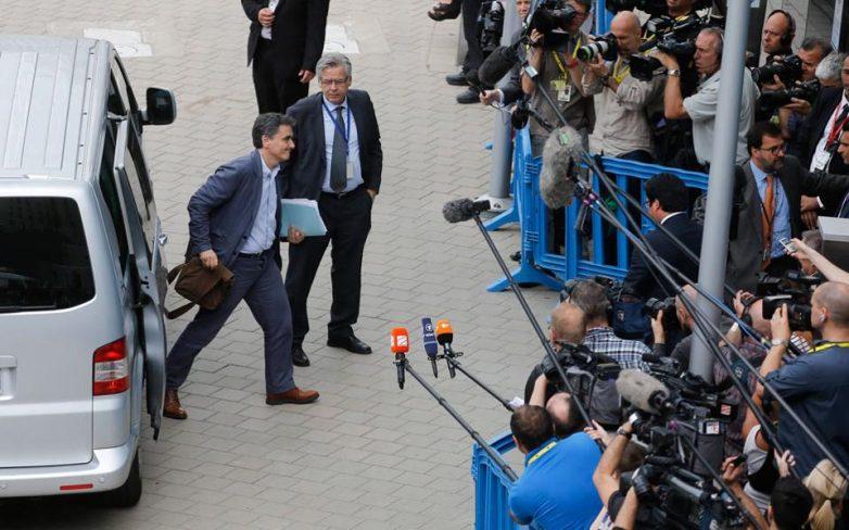 Χωρίς νέες προτάσεις στο Eurogroup ο Τσακαλώτος