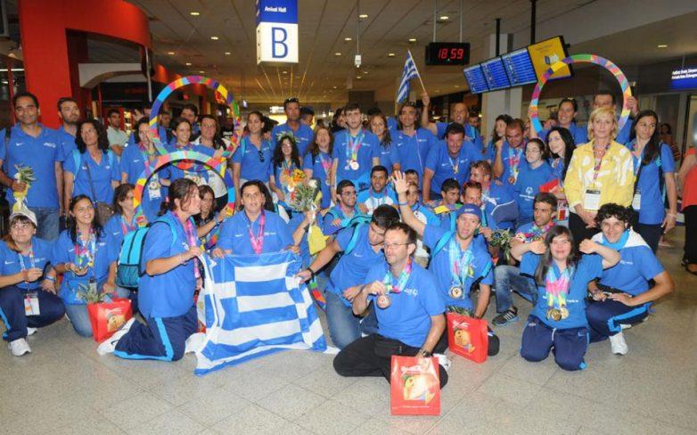 Νικητές της ζωής, νικητές των Παγκόσμιων Αγώνων στο Λος Αντζελες, οι αθλητές των Special Olympics Ελλάς