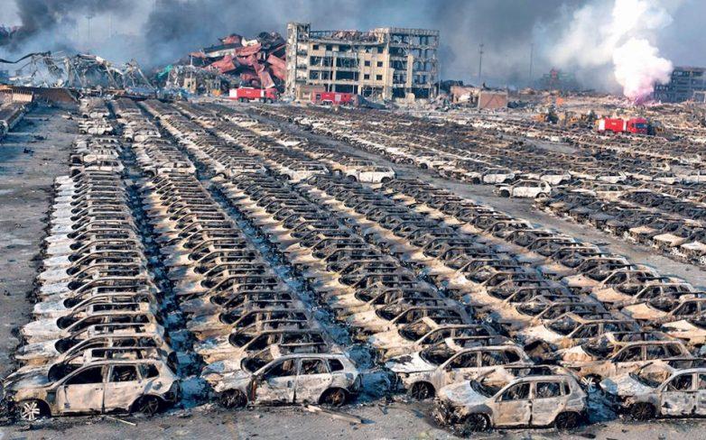 Πενήντα οι νεκροί από τις εκρήξεις στη ΒΑ Κίνα