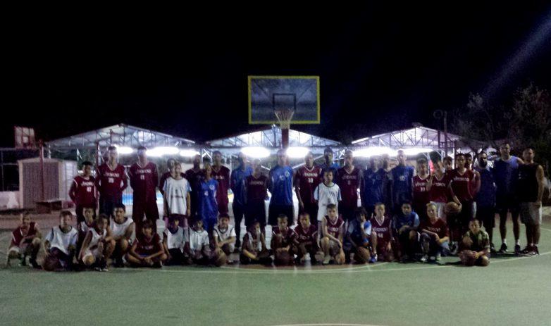 Η ακαδημία της Νίκης στο Skouras Camp
