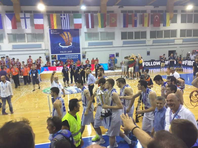 Xρυσή πρωταθλήτρια Ευρώπης η Εθνική Εφήβων Μπάσκετ  κάτω  των 18