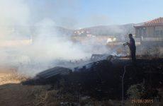 Κάηκε ολοσχερώς  μονοκατοικία μεταξύ Πορταριάς – Μακρινίτσας