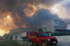 Δύο συλλήψεις για την πυρκαγιά στο Ξυλόκαστρο Κορινθίας