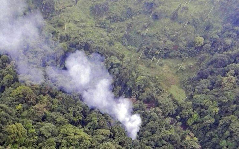 Συντριβή ελικοπτέρου με 16 νεκρούς αστυνομικούς στην Κολομβία