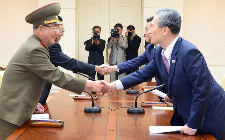 Συμφωνία για τερματισμό εντάσεων ανάμεσα σε Βόρεια και Νότια Κορέα