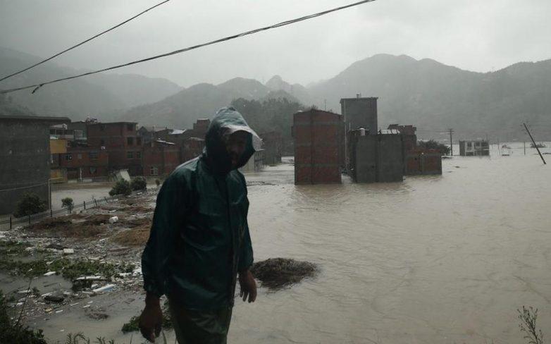 Κίνα: Δεκατέσσερις νεκροί από τον τυφώνα Σουντελόρ