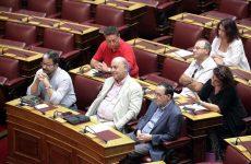 Τρίτη δύναμη στη Βουλή η «Λαϊκή Ενότητα» του Λαφαζάνη με 25 βουλευτές