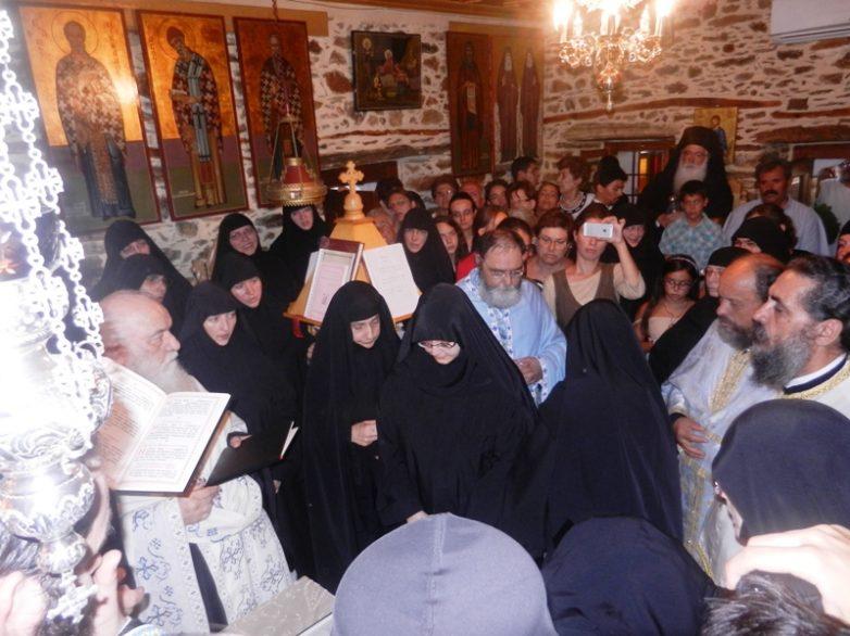 Μεγαλοσχημία Μοναχής στην Ιερά Μονή Γενεθλίου της Θεοτόκου Αγίου Βλασίου