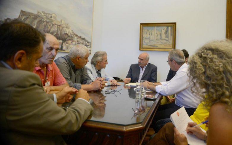 Μεϊμαράκης: «Συνεννόηση των πολιτικών δυνάμεων για να περάσουμε τον δύσκολο δρόμο»