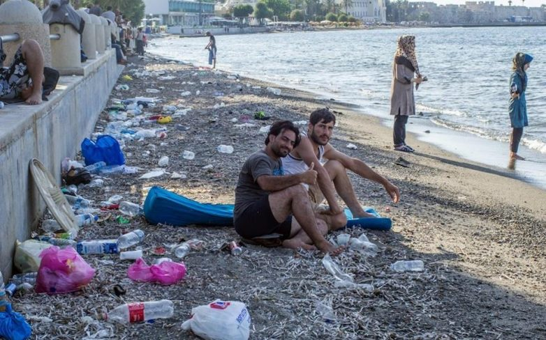 Αυξάνονται οι ροές των μεταναστών – Επεισόδια στη Μυτιλήνη