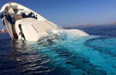 Πολυτελές σκάφος βυθίστηκε στην Μύκονο