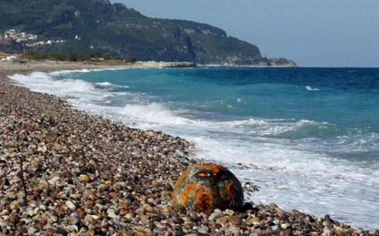 Λουόμενος εντόπισε νάρκη σε παραλία του Ρεθύμνου