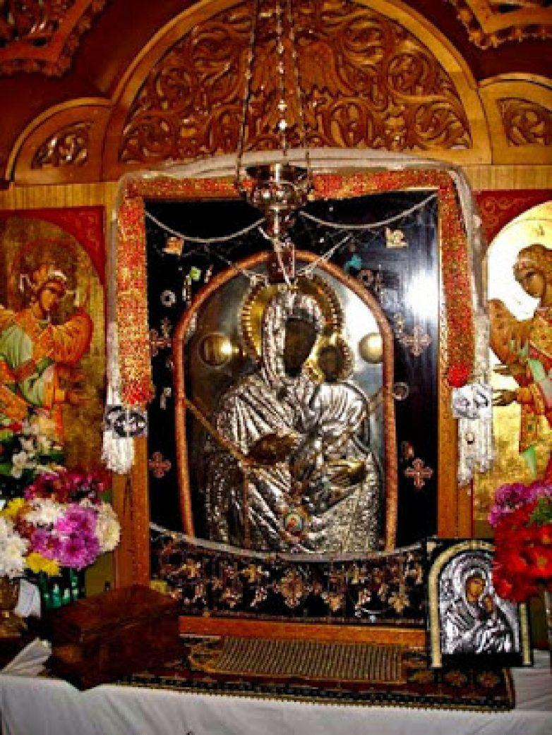 Η Παναγία Ελεούσα της Ξυνιάδος στην Ευξεινούπολη