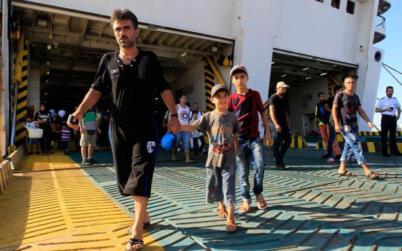 Συγκρούσεις με μαχαίρια μεταξύ μεταναστών στη Μυτιλήνη