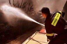 Απανθρακωμένος άνδρας βρέθηκε μετά απο πυρκαγιά σε εργοστάσιο της Σίνδου