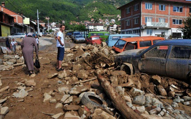 Φονική κακοκαιρία στα Σκόπια