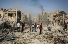 Συριακό μαχητικό συνετρίβη σε αγορά της Αρίχα