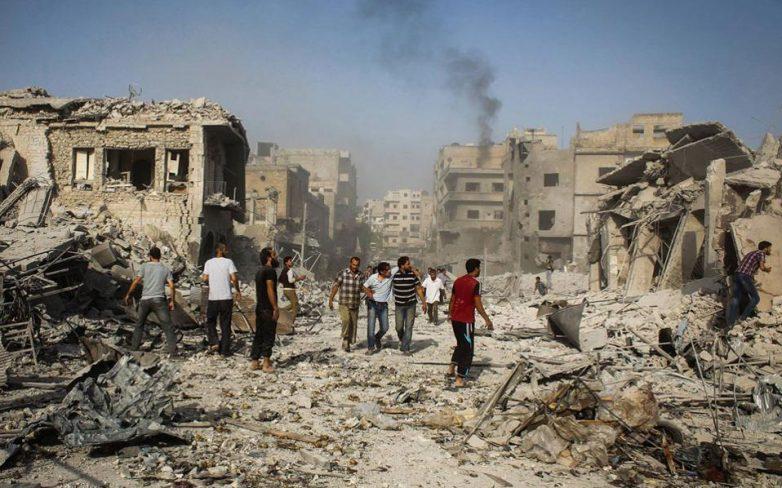 Επείγουσα ανθρωπιστική πρωτοβουλία της ΕΕ για το Χαλέπι