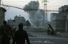 Αεροπορική επιδρομή στη Συρία προς υποστήριξη ανταρτών από τις ΗΠΑ