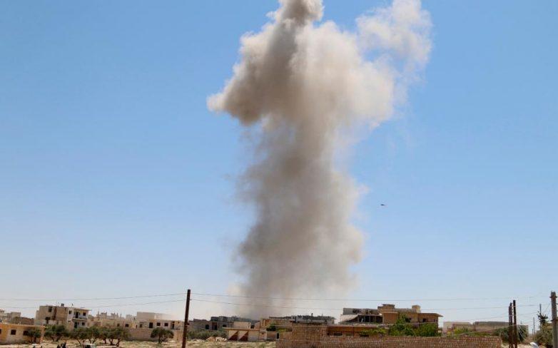 Συρία: Τουλάχιστον 12 νεκροί από τη συντριβή μαχητικού αεροσκάφους