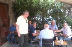 Περιοδεία υποψήφιων βουλευτών της ΛΑΕΝ  στις Σποράδες