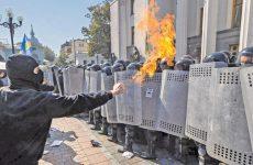 Αιματηρές συγκρούσεις στο Κίεβο